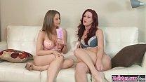 Twistys - (Karlie Montana, Emily Addison) starring at Hello Karlie thumbnail