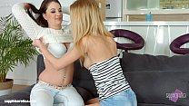 Welcum home by Sapphic Erotica - sensual erotic lesbian porn with Angelina Brill