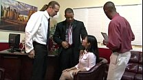 Lucky gangbanged at the office pornhub video