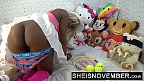 Cutie Msnovember Skinny Little Waist Get Big Booty Asshole Gape Wearing A Mini Skirt , Get Her Round Ebony Butt And Pussy Fingering Close Up POV HD Sheisnovember صورة