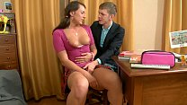 Tight Pussy Hot Schoolgirl Babe Rides BF´s Big