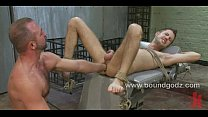 Kyler is tied up and fucked by Josh pornhub video