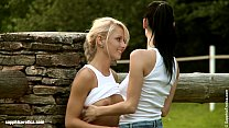 Evening Tryst - by Sapphic Erotica lesbian sex with Anneli Eileen