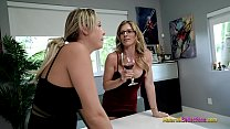 Stuck Threesome With My Step Mom And Step Aunt Nikki Brooks And Cory Chase
