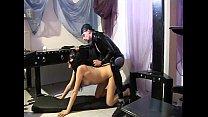 Master fucking a horny slave girl