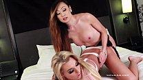 Venus Lux Fucks Aubrey Kate's Tight Ass