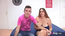 Shy young couple shows their secrets in their f...