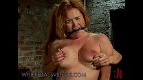 Image: Busty round ass babe asshole fucked