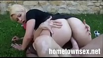 Sexy Pawg Getting Fucked Outside