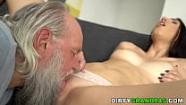 Young Law Intern Craving For Old Cock