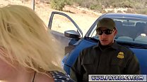 Police grope and compilation xxx Cute ash-blonde babe Marilyn Moore