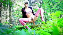 Lola Spais crossdresser in the Woods