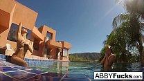 Behind the Scenes underwater fun with Abigail Mac & Romi