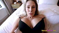 Step Mom Shows me her new Tits and Lets me Fuck her - Nikki Brooks