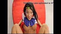 Asa Akira POV as Sailor Moon is fucked - a geek...