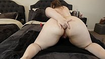 Big Booty Pawg Solo Anal Masturbation With Her Big Vibrator