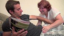 Full figured grandma seduces son's friend pornhub video