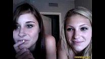Two naughty girls on web cam - www.pornfactor.tv