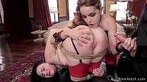 Hot butts slaves banged by butler