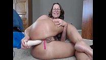 PAWG Milf Camgirl Jess Ryan Anal Foot Fetish Show