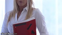 SweetSinner MILF College Prof. Drilled by Obses...