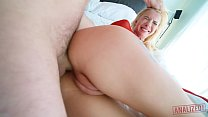 KENZIE REEVES' ROUGH ANAL PUNISHMENT - BLONDE LITTLE SPINNER GETS STRETCHED صورة