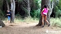 Carol Sevilla Gives Up The Booty In The Woods