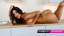 Babestation MILF Toni Lane in denim and stockings