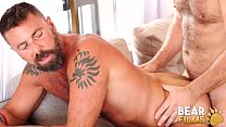 BEARFILMS Bear Alfer Cuero Fucks Hairy Daddy After Blowjob