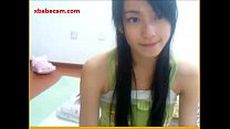 Hot young Korean Teen naked masturbating playing with her pussy
