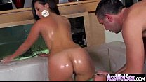 Wet Oiled Big Ass Girl Get Deep Nailed On Cam movie-20