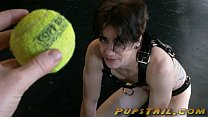 Mistress Lexi plays Fetch with Her naked pup - pupstail.com video