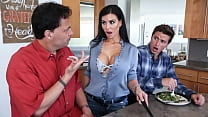 Step Son Fucks His Mom Melissa Lynn Without Getting Caught By Dad