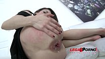 Arwen Gold assfucked hard & creampied after Gaping Monster Toy insertion