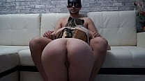 Rough Fuck in All Holes with Cute Masked Student