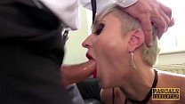 PASCALSSUBSLUTS - Busty Tanya Virago fed cum after HC anal صورة