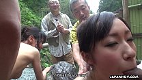 Fucking eager sluts at a hot spring in the mountains缩略图
