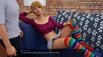 Milfy City[v0.6] | Horny milf mom with big boobs is punishing her stepdaughter for bad marks at school by licking her pussy and making her cum several times | My sexiest gameplay moments | Part #54