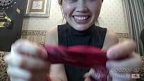 Dog sniffing Breastfeeding mom No2. Natsuki's stain panties(FETIS.JP)