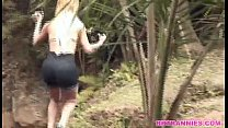 A naughty walk in the park