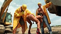 420wap net - Aroused Tramp Banged Hardcore By Hot Construction Workers thumbnail