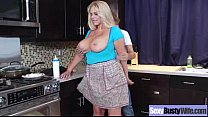 Intercorse With Hungry For Sex Bigtits Housewife (karen fisher) video-17