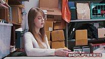 Surprising Shoplifting Amature Backroom Sextape