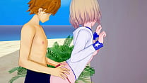 Rent-A-Girlfriend: Kazuya Loses His Virginity to Mami at the Beach
