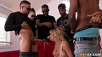 BBC Slut Cherie DeVille Deepthroats Many Big Bl...