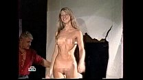 "Russian girl dances naked on a show ""Fear factor"""