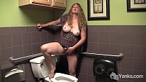 BBW Yanks Jade Orgasming In A Public Bathroom Preview