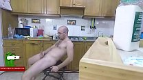 in the kitchen naked ADR0059 Vorschaubild
