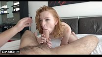 Rammed - Redhead Katy Kiss gets her tight pussy...