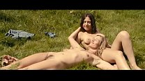 Mainstream girl on girl sex with full frontal nudity (bush).  Cecile de France, Izïa Higelin - Summetime (2015)